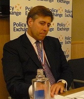 Graham Brady - Brady at Conservative Party conference 2011
