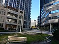 From the courtyard between Eaton's College and the Aura building on Gerrard, 2013 10 09 (10).JPG - panoramio.jpg