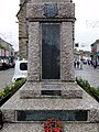 Front of war memorial in Truro city center.jpg