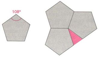 Quasicrystal - Tiling of a plane by regular pentagons is impossible but can be realized on a sphere in the form of pentagonal dodecahedron.