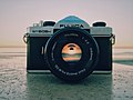 Fujica camera on stone surface (Unsplash).jpg