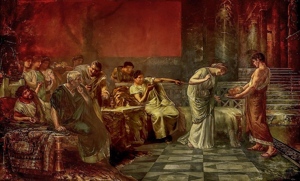 Fulvia y Marco Antonio, o La venganza de Fulvia (Museo del Prado)
