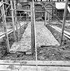 fundering gothische toren zuidelijke flank gezien naar het westen - grave - 20083994 - rce