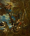 Géricault - Le martyre de saint Pierre (d'après Titien), um 1814.jpg