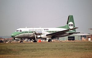 Necon Air Flight 128 - A HS748 similar to the accident aircraft