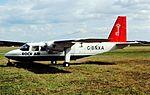 G-BNXA Islander Rock Air CVT Aug 97 (24316993281).jpg