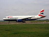 G-EUUX - A320 - British Airways Shuttle