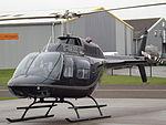 G-GEZZ Bell Jet Ranger 206 Helicopter (23723344776).jpg