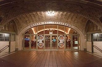 Grand Central Oyster Bar & Restaurant - Image: GCT OB 2
