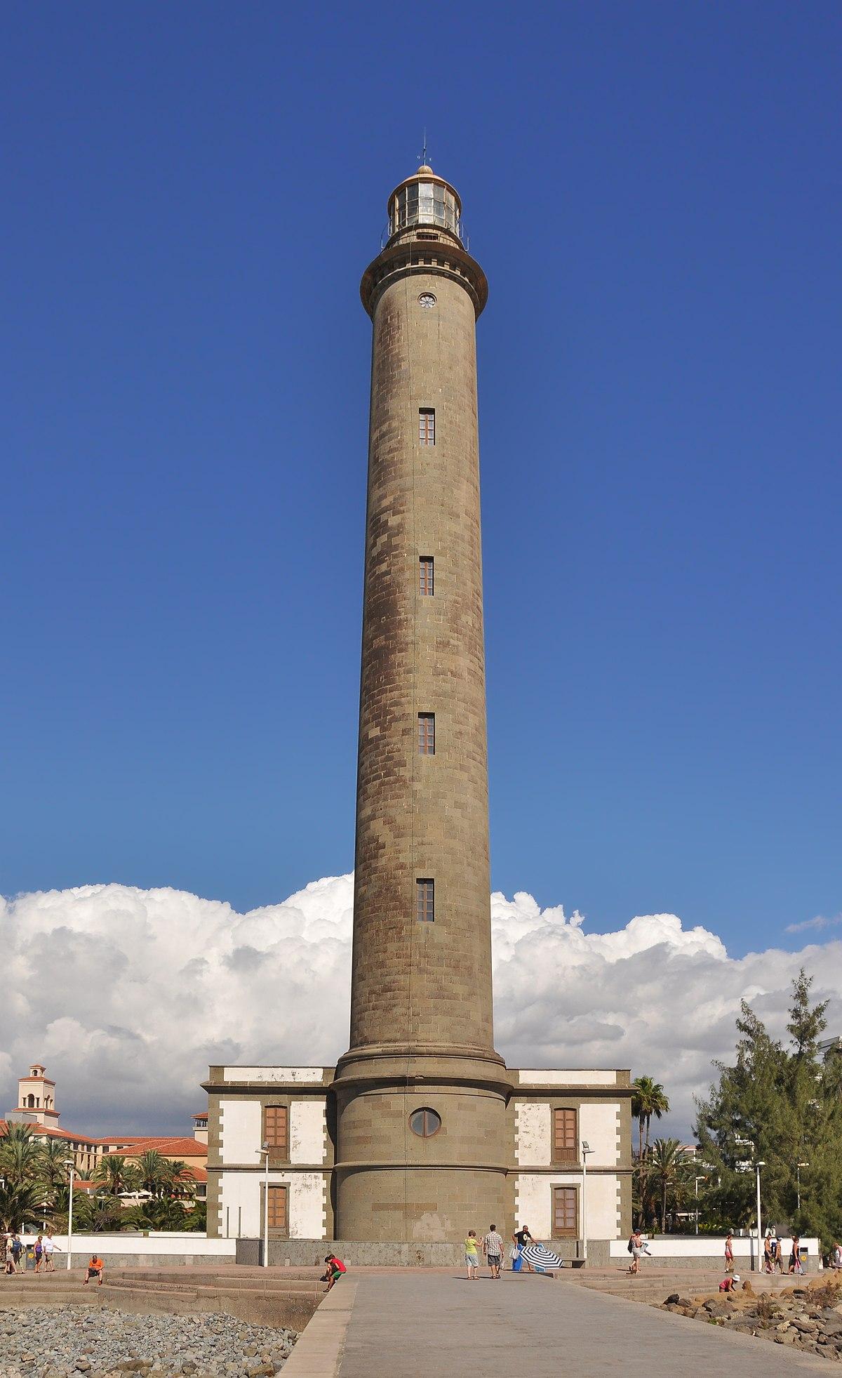 Maspalomas lighthouse wikipedia for Planimetrie del faro