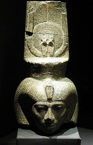 Shepenupet II - Head of Shepenupet II from Alexandria National Museum, Egypt