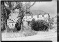 GENERAL VIEW OF EAST ELEVATION - Sion Farm, Great House, Centerline Road vicinity, Sion Farm, St. Croix, VI HABS VI,1-QUEEN,3-4.tif