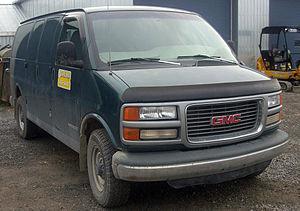 Chevrolet Express - Image: GMC Savana Wagon 3500