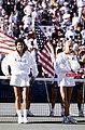 Gabriela Sabatini and Steffi Graf after the 1990 US Open final.jpg