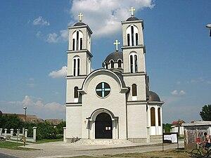 Gajdobra - The Orthodox church