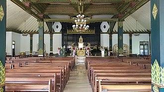 Ganjuran Church - Image: Ganjuran Church interior (2015)