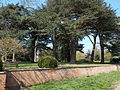 Gardens and Ha-ha at south of Wollaton Hall, Nottingham, England 03.jpg
