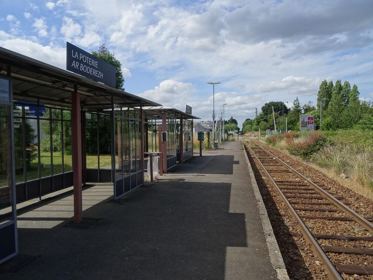 Gare de rennes la poterie wikip dia for Garage de la gare bretigny