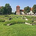 Garten Baszta Złodziejska (Citadelle) Scloss Wawel Krakau.JPG