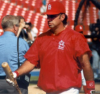 Gary Gaetti - Gaetti with St. Louis