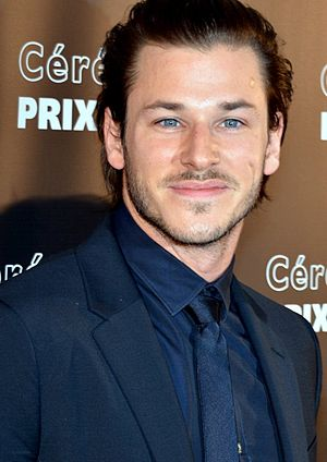 20th Lumières Awards - Gaspard Ulliel, Best Actor winner.