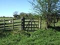 Gate on Settle Road - geograph.org.uk - 164801.jpg