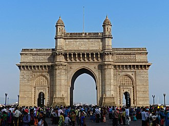 Gateway of India - Gateway of India This structure was erected to commemorate the landing of King George V and Queen Mary at Apollo Bunder on their visit to India in 1911.