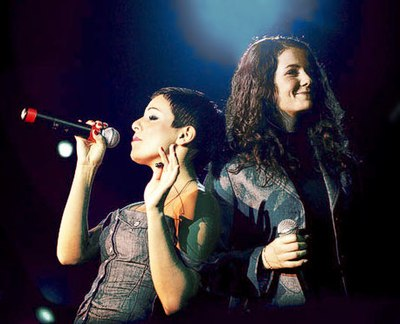 t.A.T.u., a Russian pop group that broke through to Western charts Gaudi arena.jpg