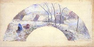 Jardin sous la neige III