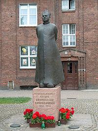Gdańsk (Wrzeszcz)-pomnik B Komorowskiego.jpg