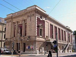 concert hall in Geneva, Switzerland