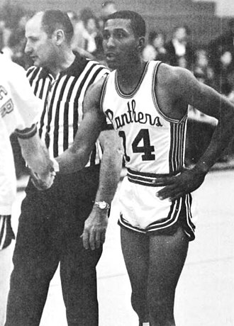 Gene Littles - Littles as a player at High Point University in 1968.