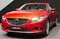 Geneva MotorShow 2013 - Mazda 6 front right view.jpg