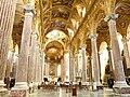 Genova-Basilica della Santissima Annunziata del Vastato-interno navata.jpg