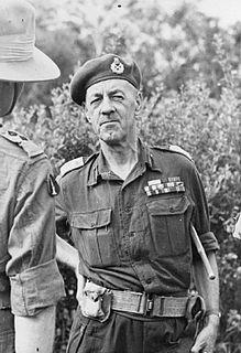 Geoffrey Scoones British Indian Army officer