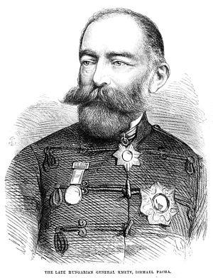 György Kmety - Ismail Pasha in Ottoman military uniform
