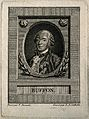 Georges Louis Leclerc, Comte de Buffon. Line engraving by L. Wellcome V0000879.jpg