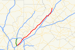 Georgia state route 13 map.png