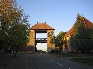 German Wine Route - German Wine Gate