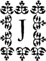 Gervaise de Latouche - Histoire de dom B… portier des chartreux, 1741-Lettrine-J.png