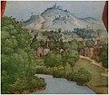Girolamo Dai Libri - Madonna della quercia - 1533 after - Museo Castelvecchio, Verona (ITALY), crop moraine hills Villages Lake Garda probably Peschiera del Garda.jpg