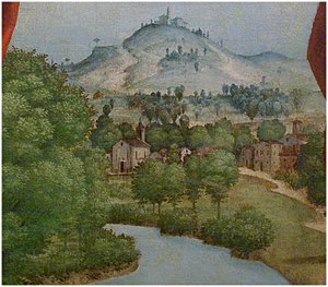 Peschiera del Garda - Probably Village of Peschiera del Garda, 1533 or later by Girolamo dai Libri