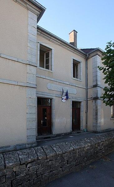 Mairie de Glamondans (Doubs).