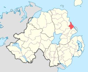 Glenarm Upper - Image: Glenarm Upper barony