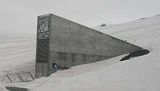 Svalbard Global Seed Vault - Image: Global Seed Vault (cropped)