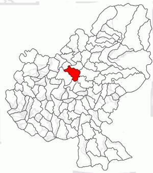 Glodeni, Mureș - Image: Glodeni jud Mures