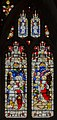 Gloucester Cathedral, Stained glass window (21965209435).jpg