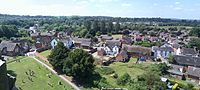 Gnosall Panorama from St Lawrence's tower - July 2013.jpg