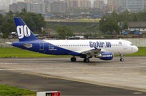 GoAir - GoAir operates a fleet of Airbus A320 aircraft