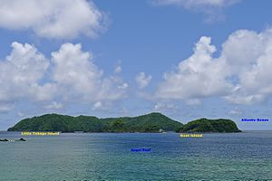 Speyside, Trinidad and Tobago - Little Tobago Island and Goat Island